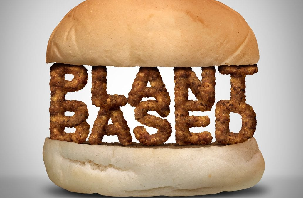 Plant-based on a bun