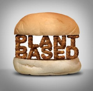 Plant-based on a bun