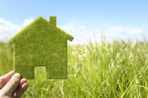 Green house illustration.