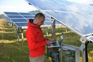 Green tech public relations can protect eco-friendly companies, like solar panel manufacturers.