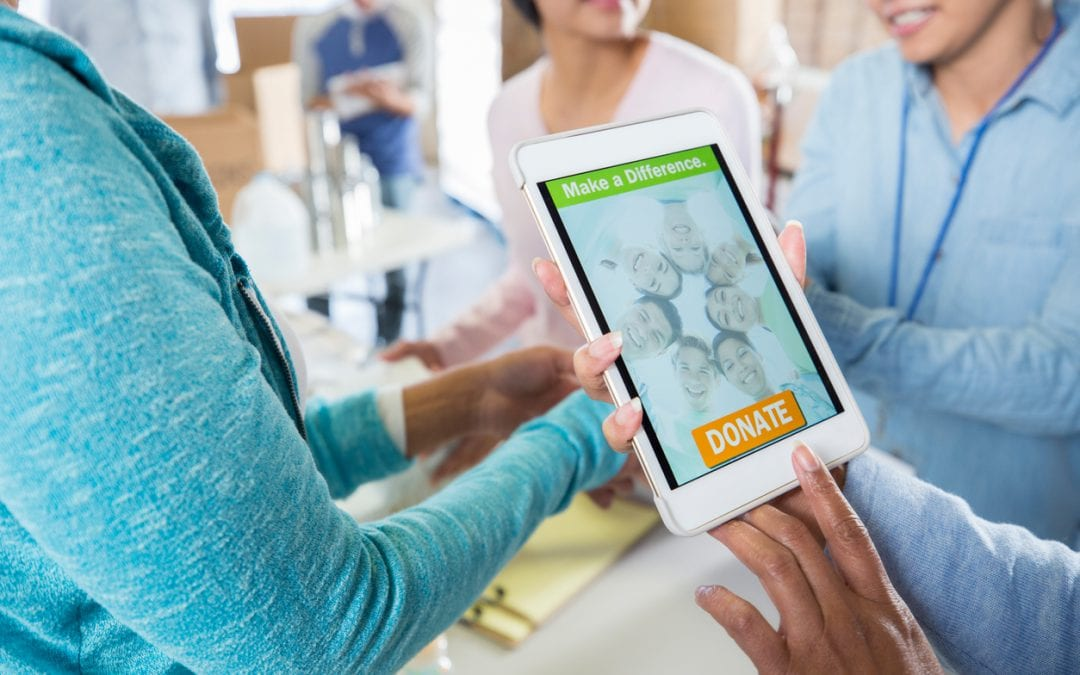 Nonprofit foundation remains current by using mobile devices for engagement.