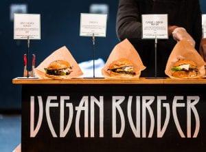 plant based vegan burgers