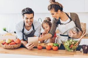 vegan family plant-based recipe